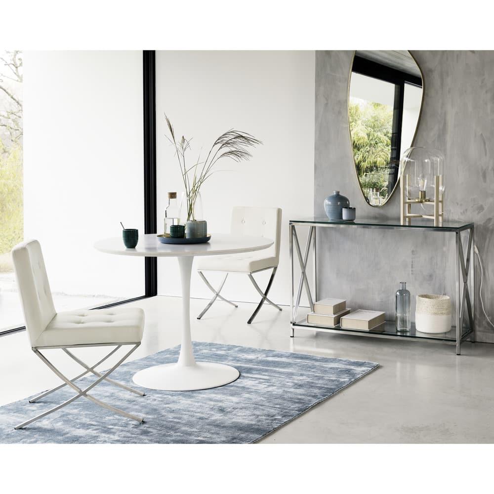 miroir en m tal dor 57x127 habel maisons du monde. Black Bedroom Furniture Sets. Home Design Ideas
