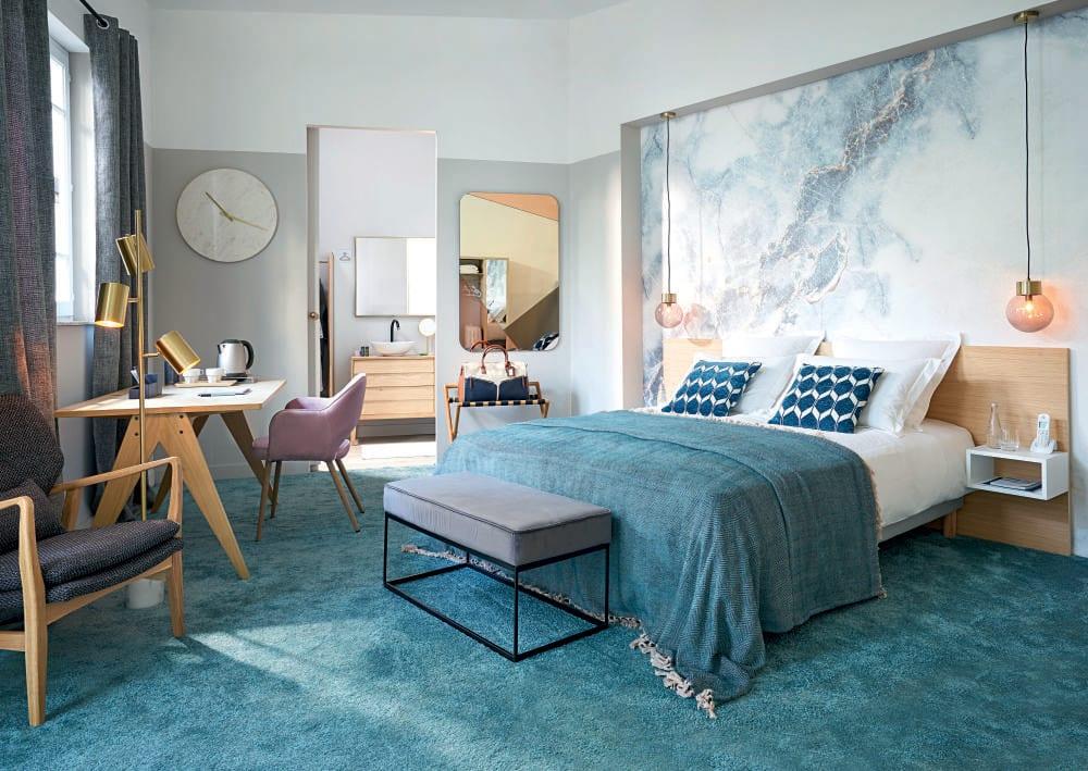 miroir en m tal dor 75x120 madurai maisons du monde. Black Bedroom Furniture Sets. Home Design Ideas