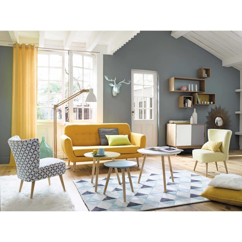 miroir en m tal dor d99 magellan maisons du monde. Black Bedroom Furniture Sets. Home Design Ideas
