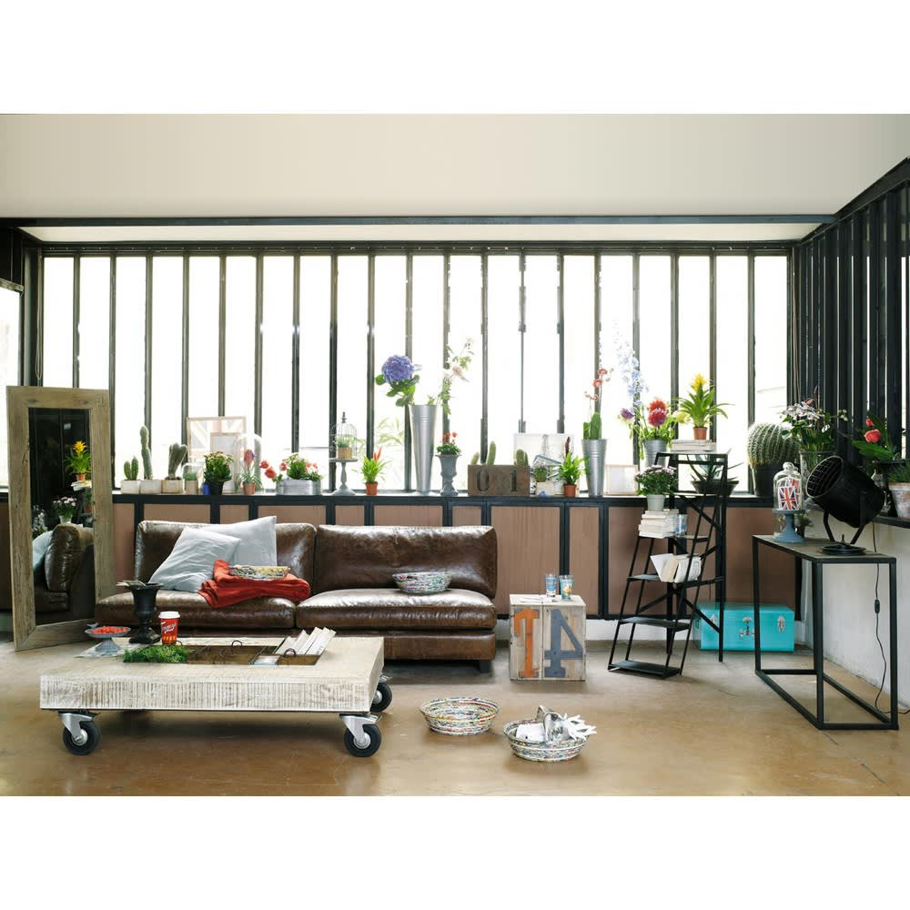 miroir en sapin h160 key west maisons du monde. Black Bedroom Furniture Sets. Home Design Ideas