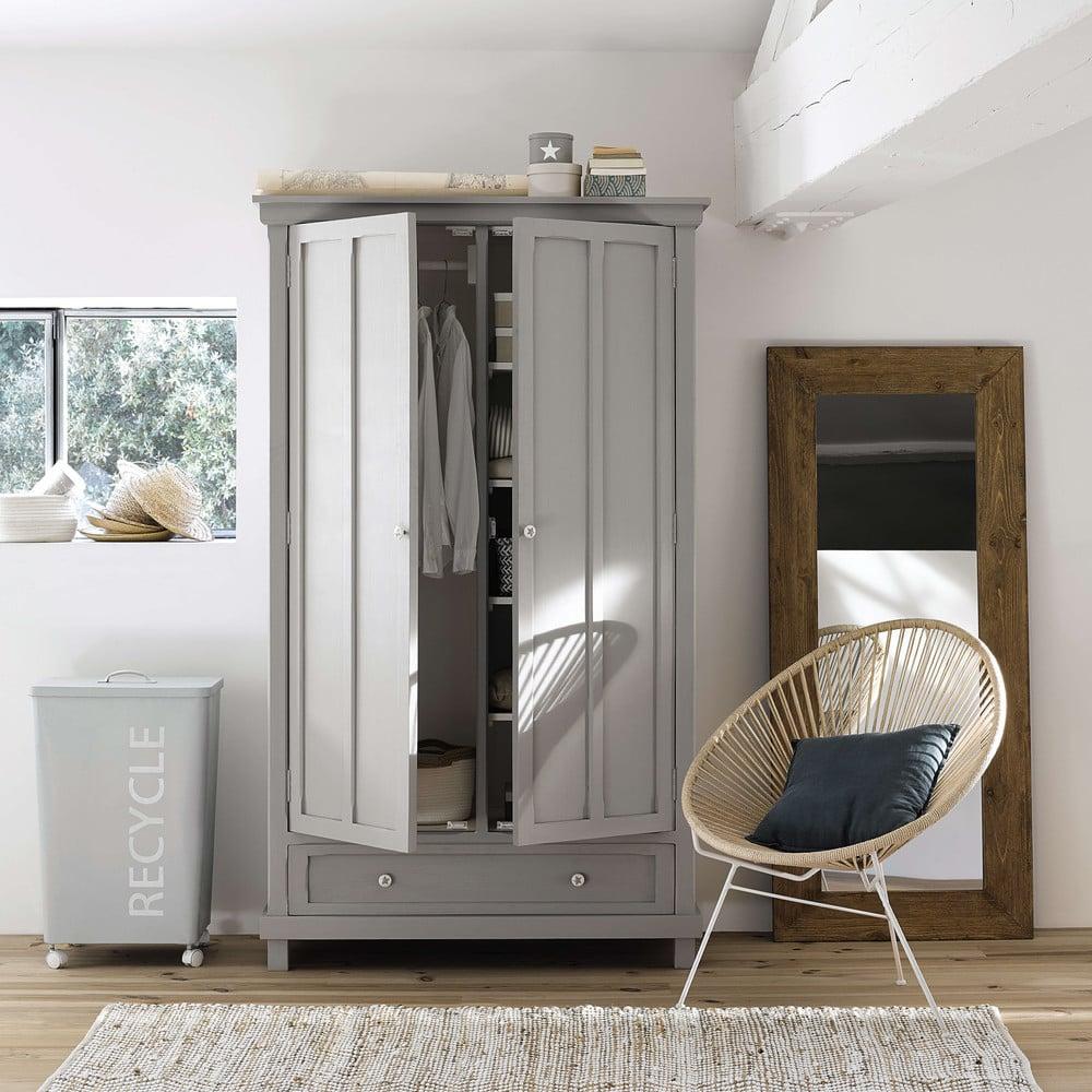 miroir en sapin h160 key west maisons du monde. Black Bedroom Furniture Sets. Home Design Ideas