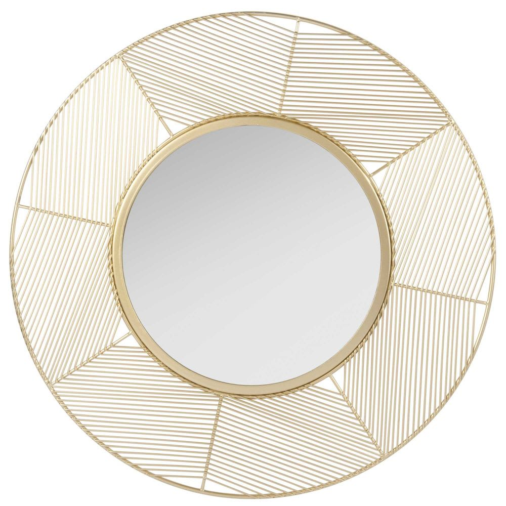 miroir filaire dor sweety maisons du monde. Black Bedroom Furniture Sets. Home Design Ideas