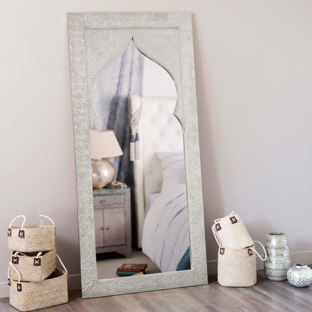 latipur - miroir métallisé 75x160