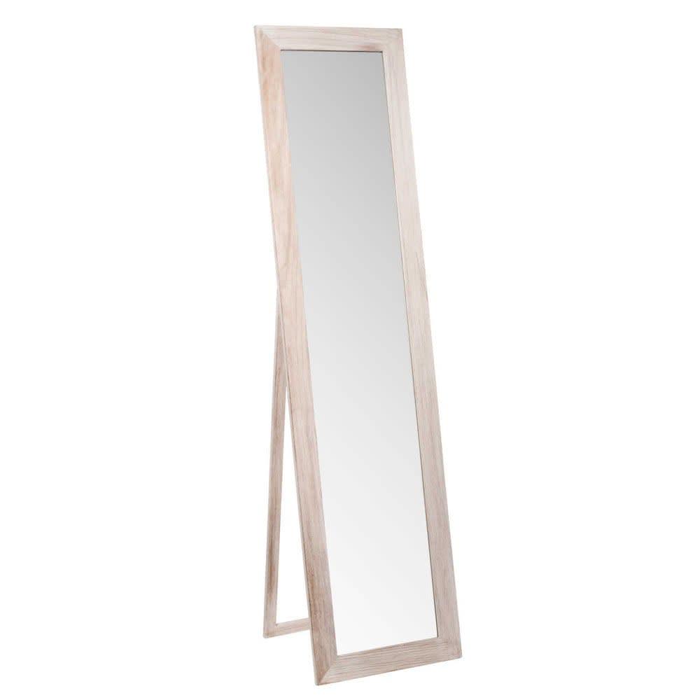 Miroir Psyché En Paulownia 160x40 Laure Maisons Du Monde