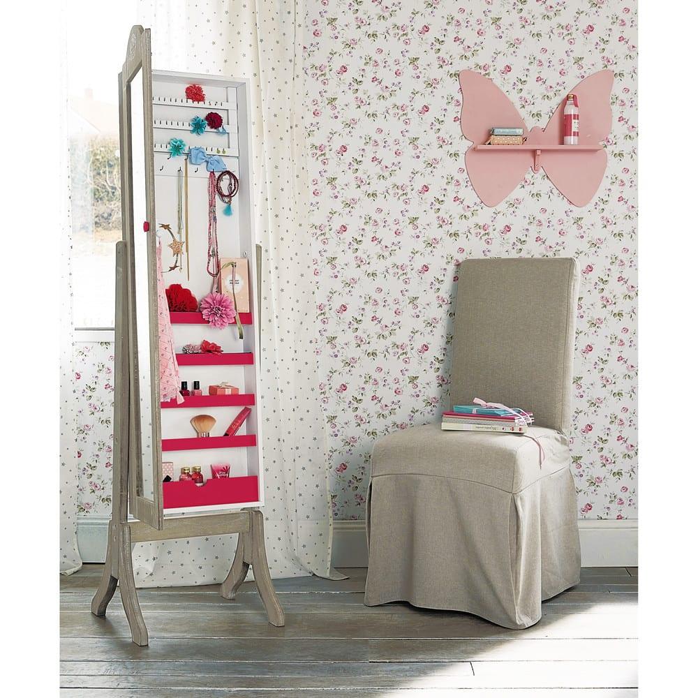 miroir psych porte bijoux 42x160 ang lique maisons du monde. Black Bedroom Furniture Sets. Home Design Ideas