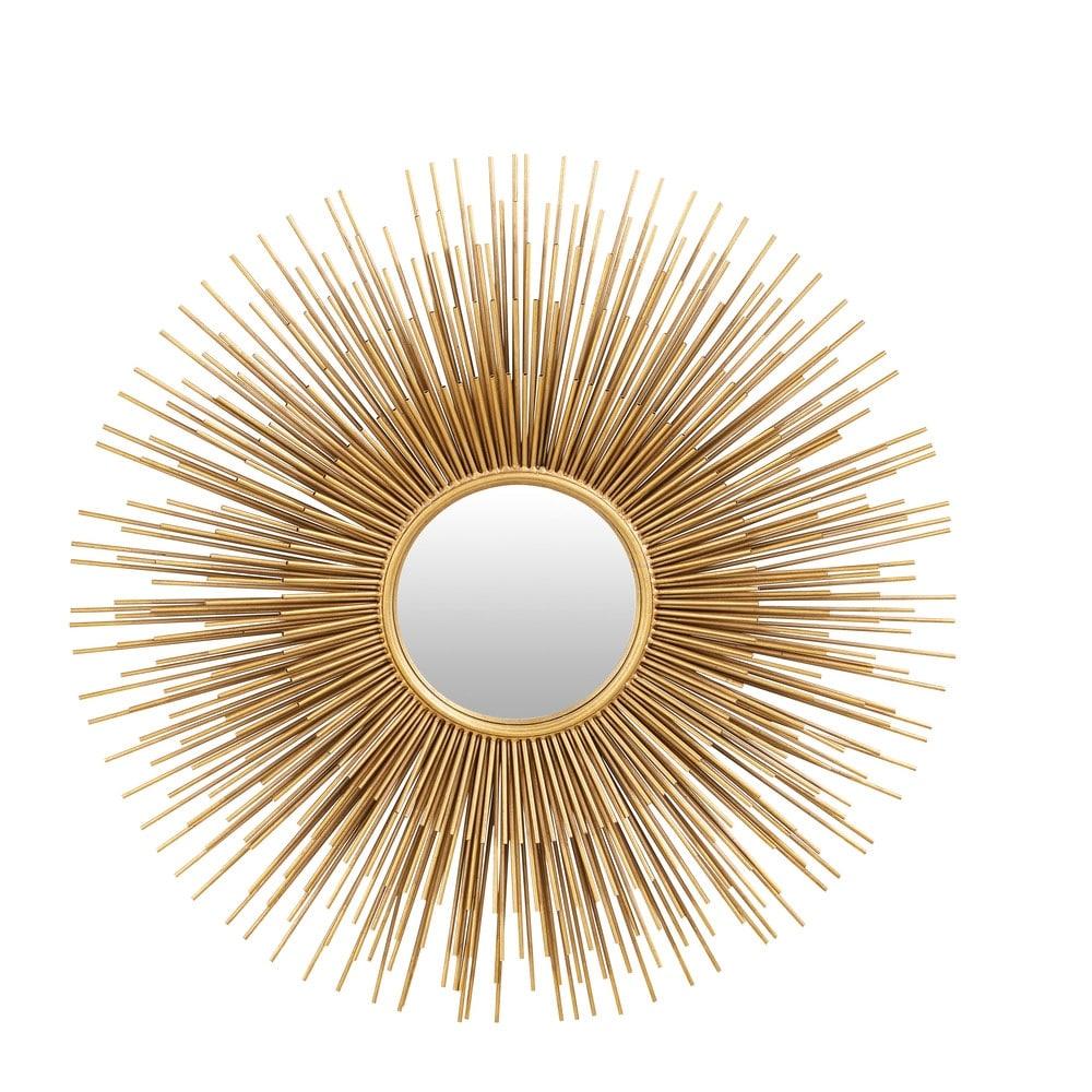 miroir soleil en m tal dor d101 massala maisons du monde. Black Bedroom Furniture Sets. Home Design Ideas