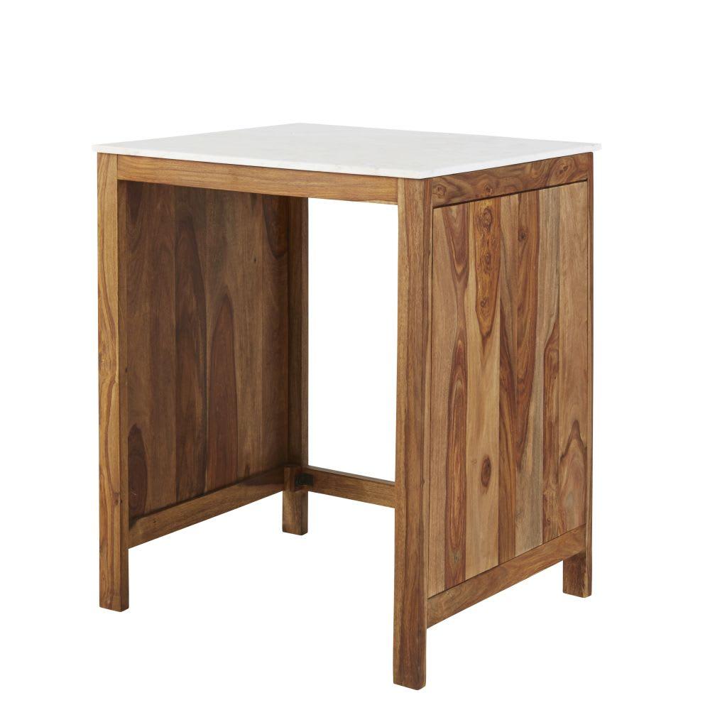 Mobile basso da cucina per lavastoviglie in legno massello di ...