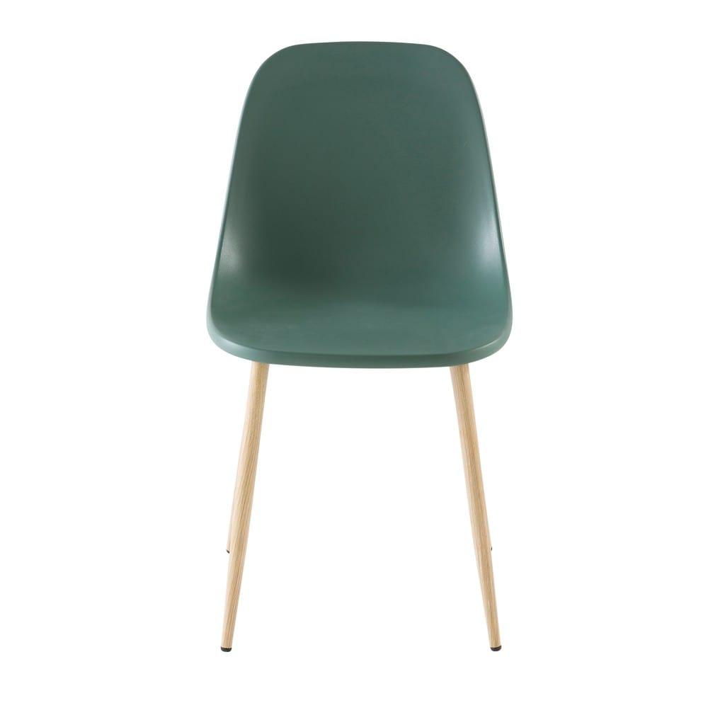 Moderner Stuhl Grün Fibule Maisons Du Monde