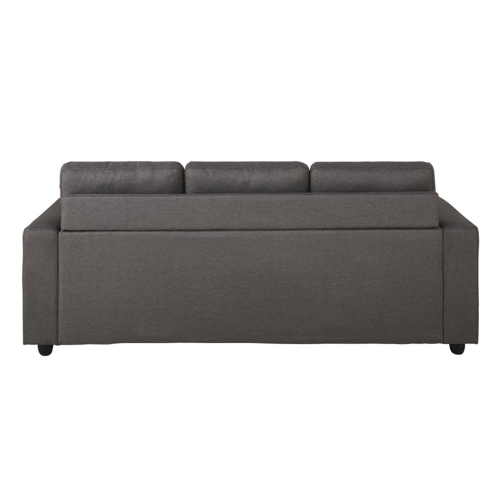 Modular 3-Seater Corner Sofa in Grey Jules | Maisons du Monde