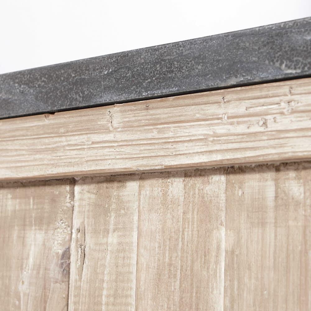 Mueble de cocina de pino reciclado para lavavajillas An. 68 ...
