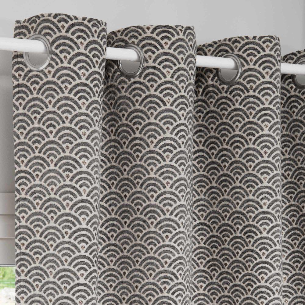 osenvorhang mit grafischen motiven 140x250 1 vorhang lisa