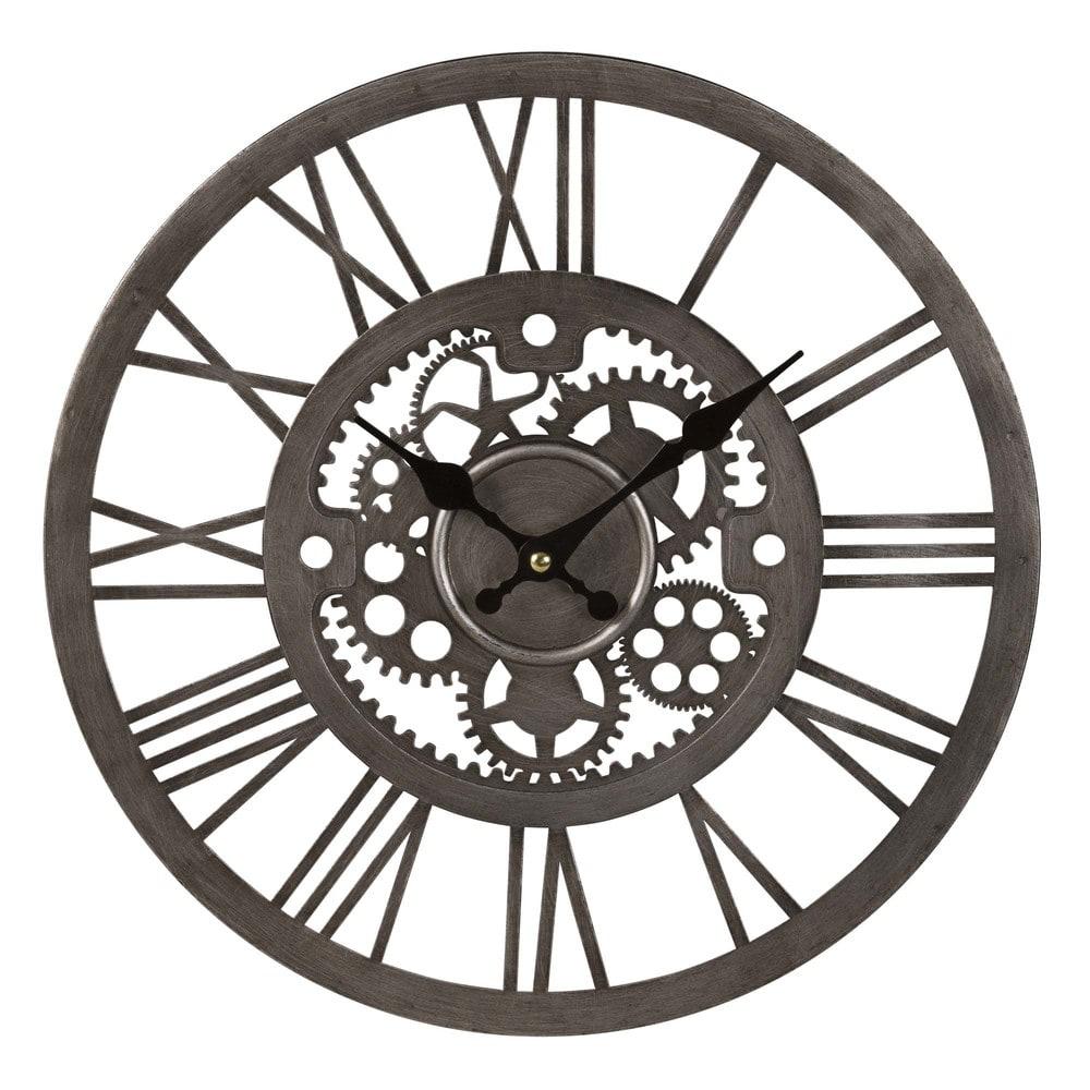 Orologio ingranaggi in metallo argentato Andy