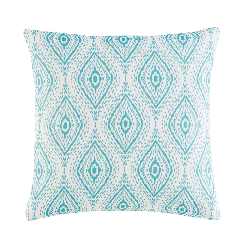 Outdoor Cushion With Green Graphic Motifs 45x45 Maisons Du Monde