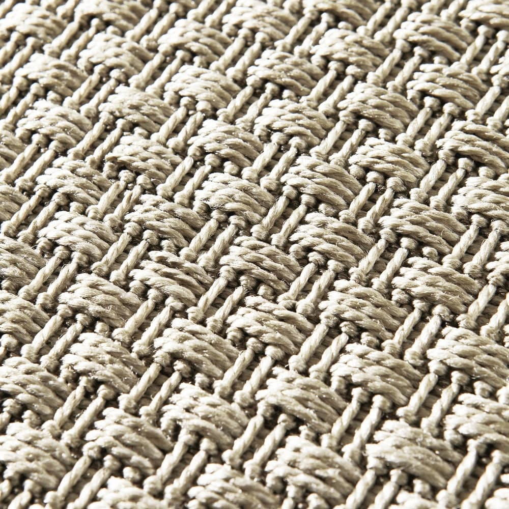 outdoor teppich aus kunststoff 120x180 dotty maisons du. Black Bedroom Furniture Sets. Home Design Ideas