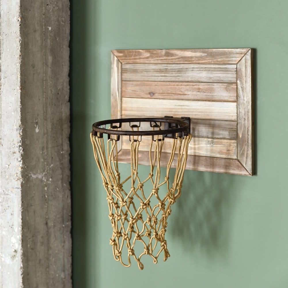 panier de basket mural en sapin 56x68 detroit maisons du. Black Bedroom Furniture Sets. Home Design Ideas