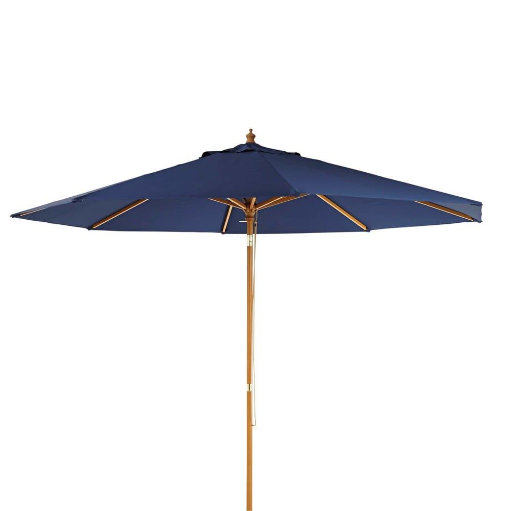 Parasol bleu indigo Palma   Maisons du Monde