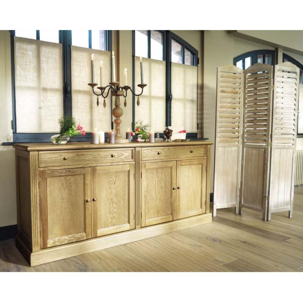paravent en sapin l106 eloise maisons du monde. Black Bedroom Furniture Sets. Home Design Ideas