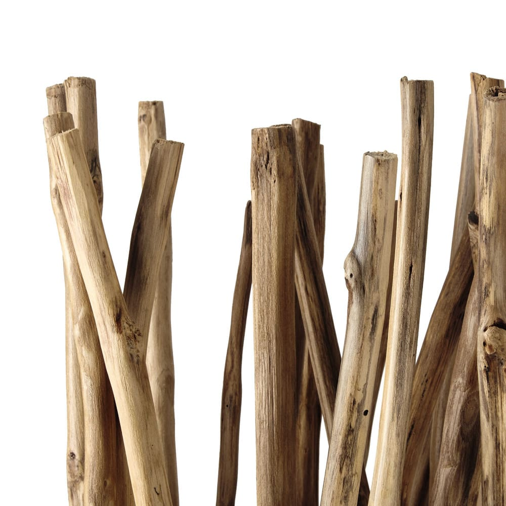 Paravento luminoso in legno flottante 100 cm Toundra | Maisons du Monde