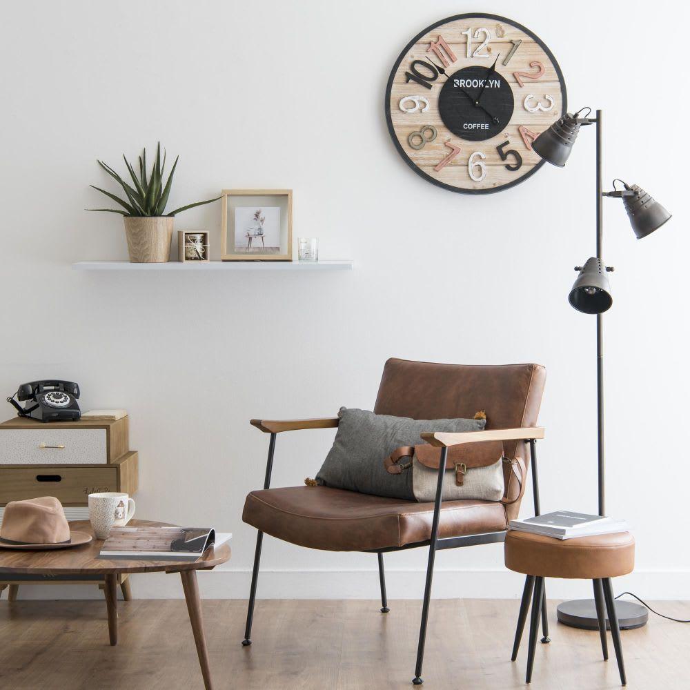 Petit meuble de rangement 4 tiroirs imprim lifestyle maisons du monde - Petit meuble a tiroirs ...