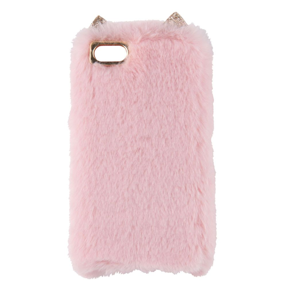 big sale 5e7a5 10f39 Pink and Gold Plastic Cat Case for iPhone 5