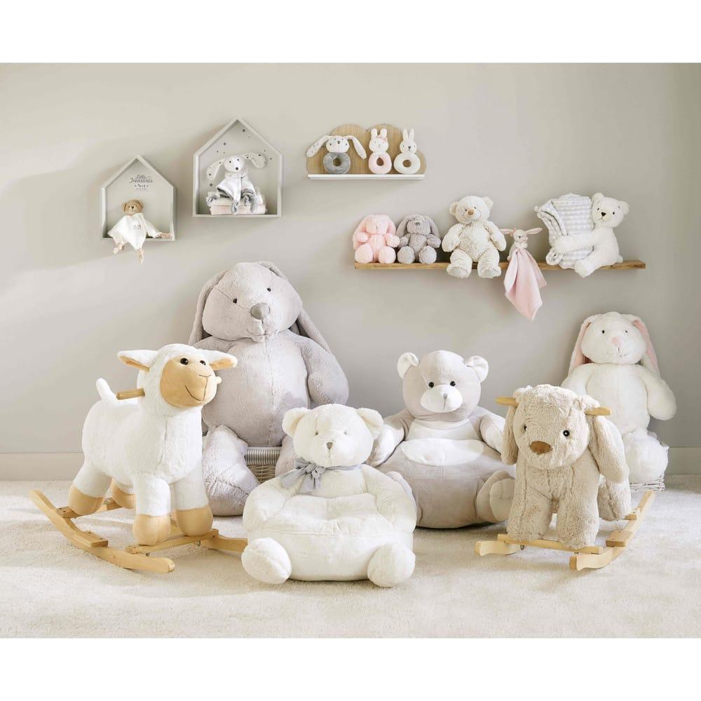 Poltrona orsacchiotto per bambini h 42 cm gaspard for Poltrona bambini