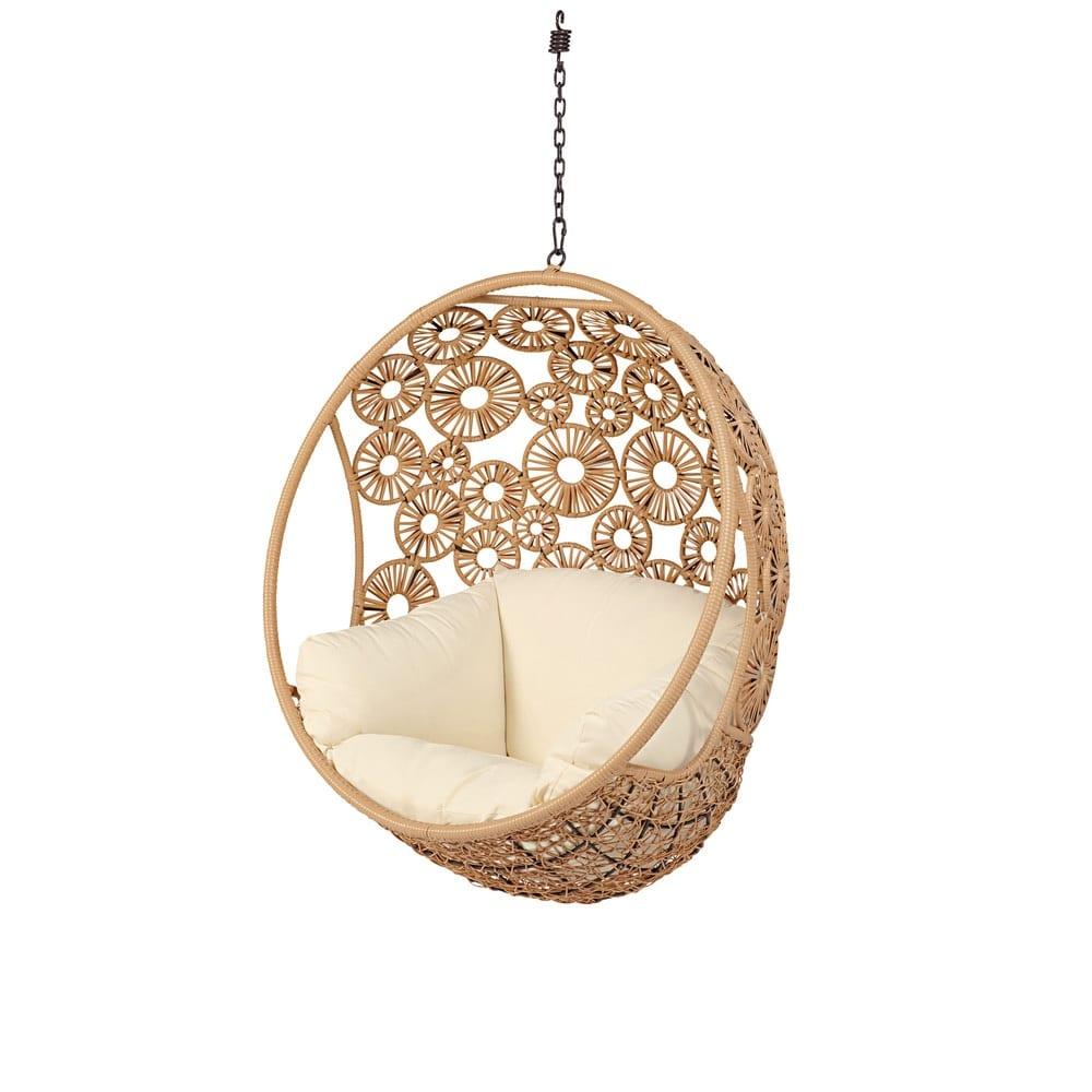 poltrona sospesa da giardino ibis maisons du monde. Black Bedroom Furniture Sets. Home Design Ideas