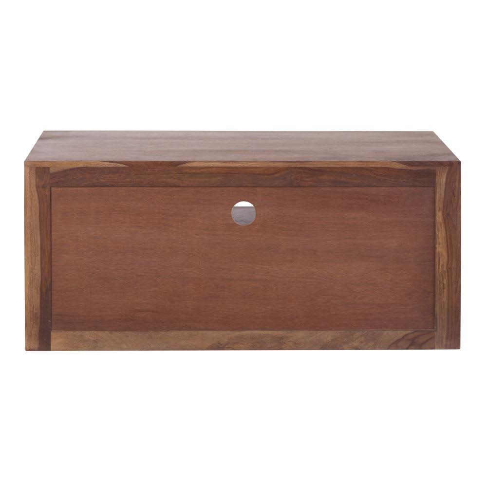 Porta-TV a 2 cassetti in massello di legno di sheesham Stockholm ...