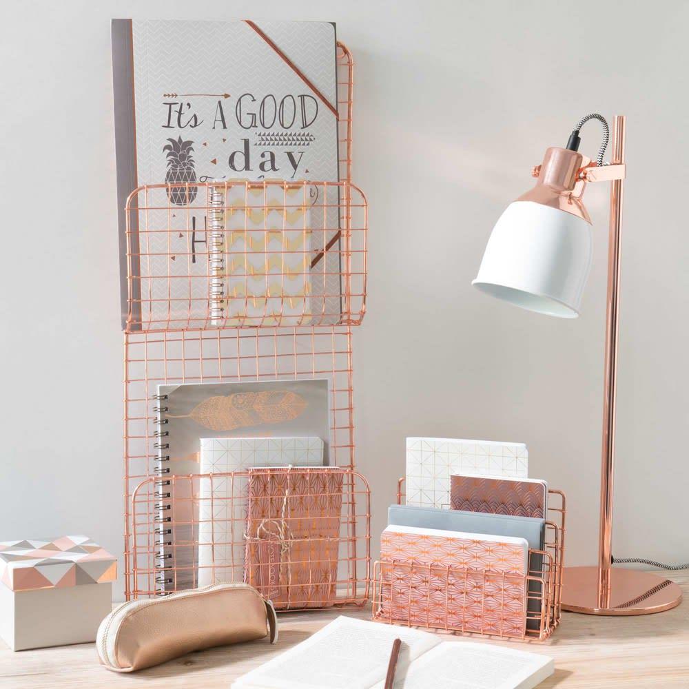 Porte courrier en m tal cuivr copper maisons du monde - Porte courrier ...