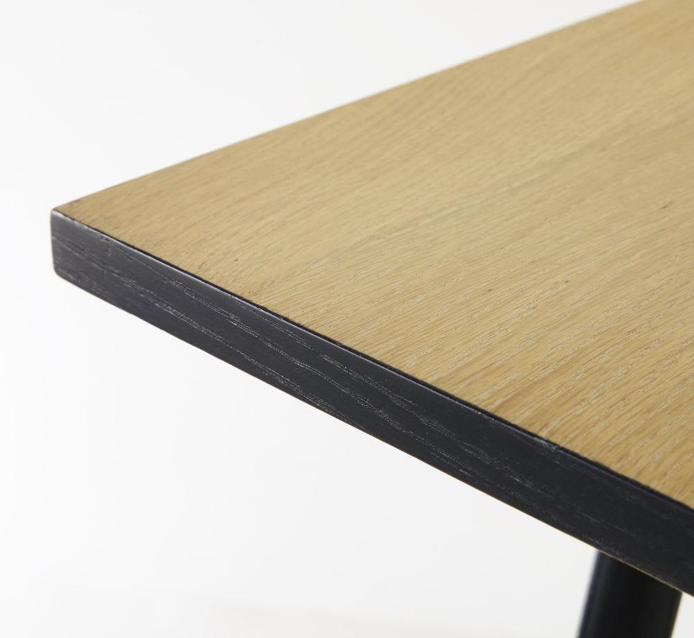 quadratischer esstisch f r 6 8 personen l80 blackout. Black Bedroom Furniture Sets. Home Design Ideas