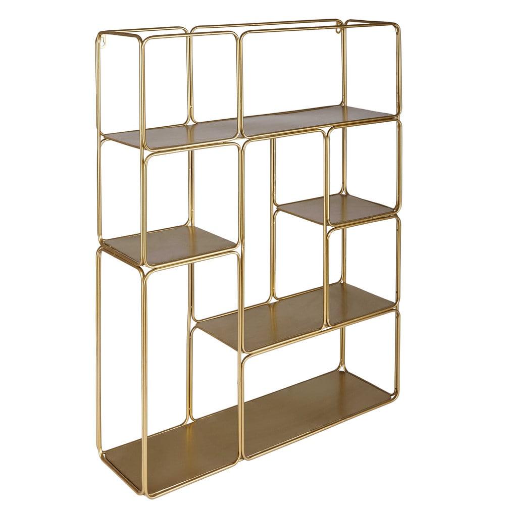 regal aus goldfarbenem metall madeline maisons du monde. Black Bedroom Furniture Sets. Home Design Ideas