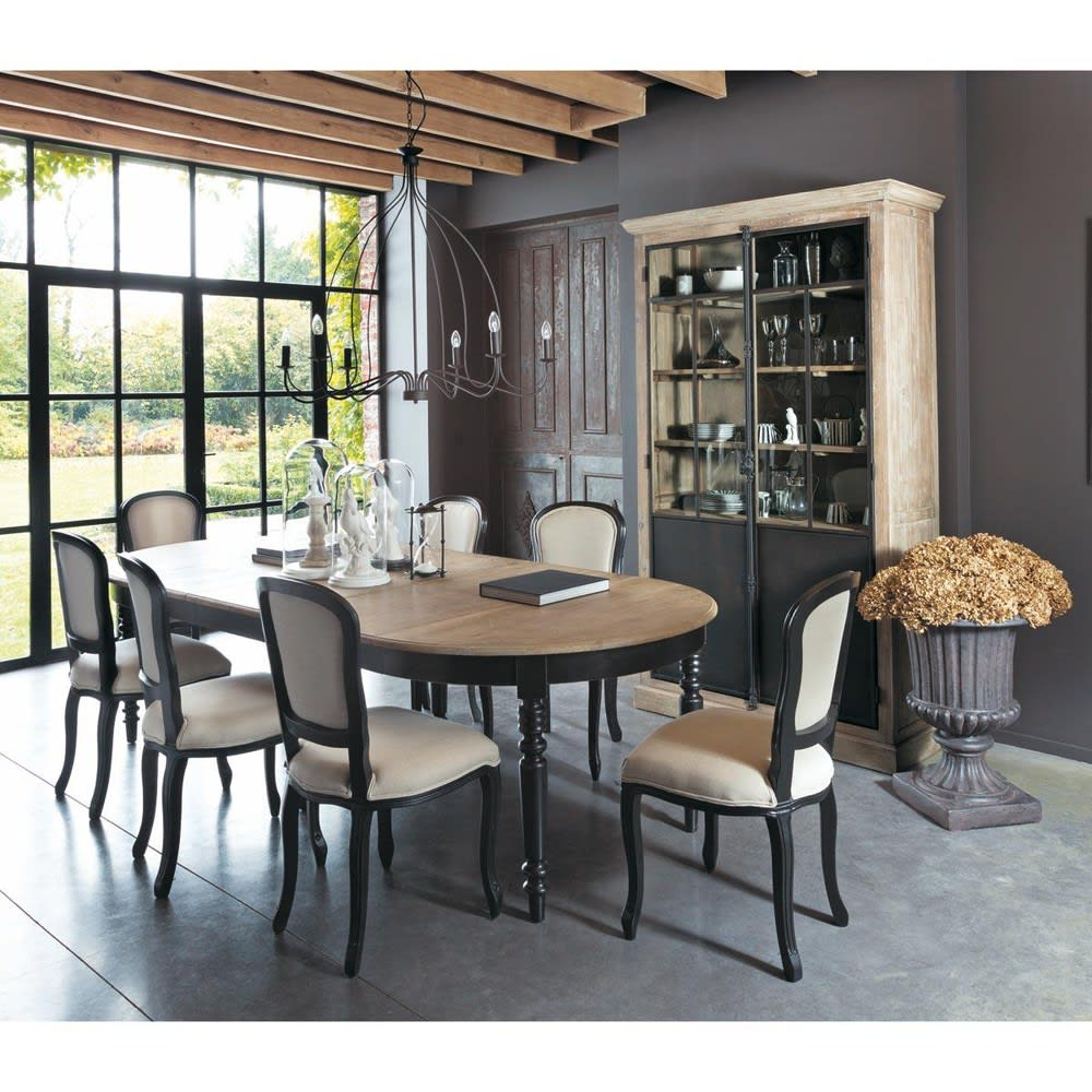 Round Extendible 6-14 Seater Dining Table W125/325