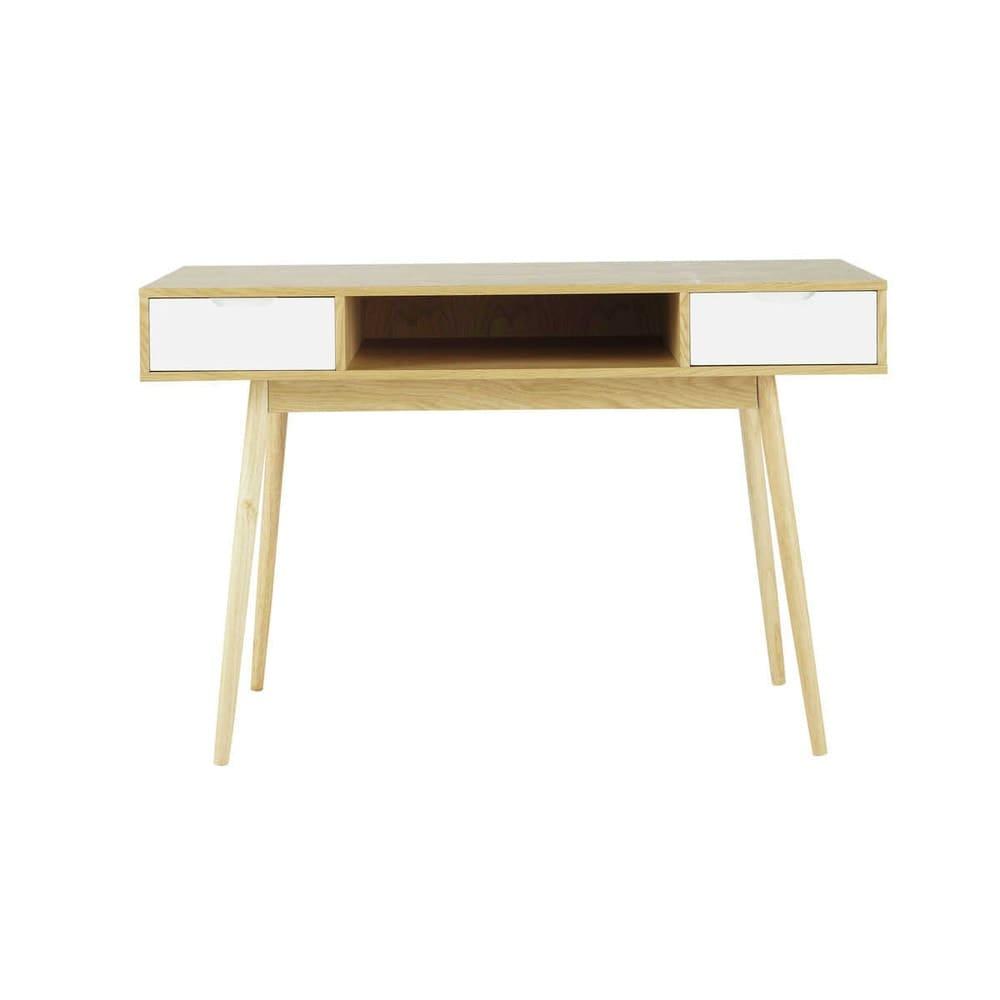 Schreibtisch im Vintage-Stil mit 2 Schubladen Fjord | Maisons du Monde