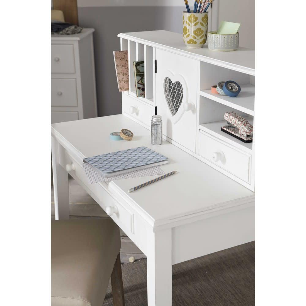 Schreibtisch Sekretär Weiß 2021