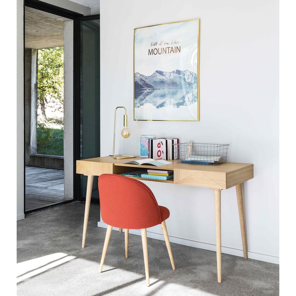 sedia vintage mattoni e legno massello di betulla. Black Bedroom Furniture Sets. Home Design Ideas