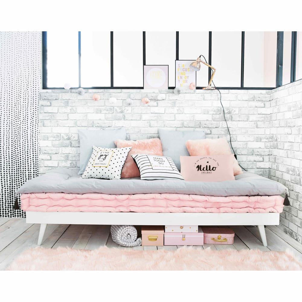 Silver Cushion 50 X 50 Cm Silver Maisons Du Monde