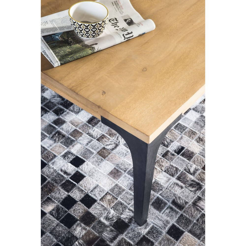 Solid Wood Dining Table By H F: Solid Mango Wood Dining Table L180 Metropolis
