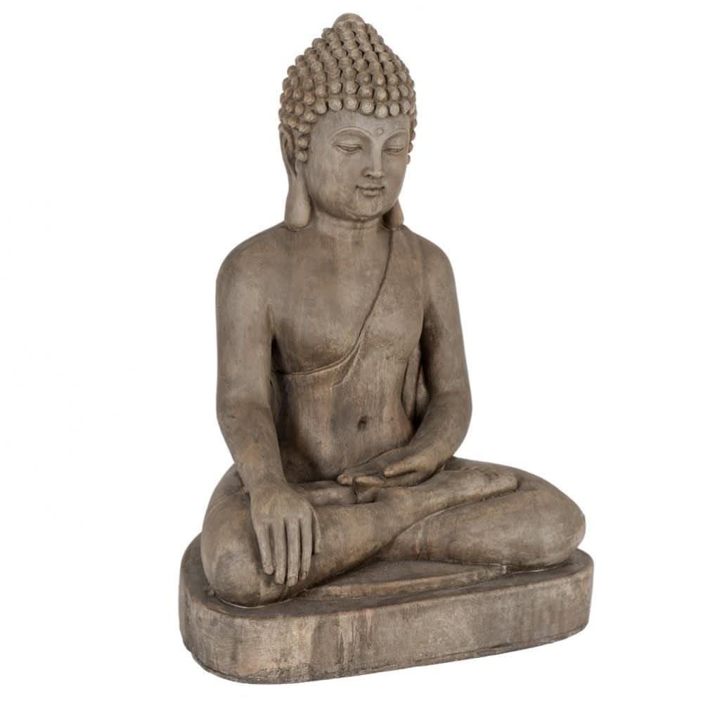 Statue Bouddha H75 Dhyana Maisons Du Monde