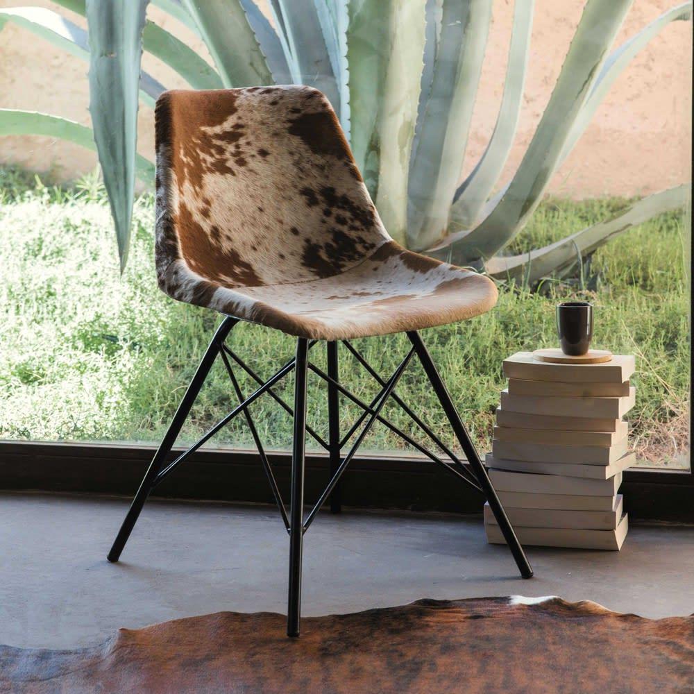 Stuhl Aus Leder Und Metall Austerlitz