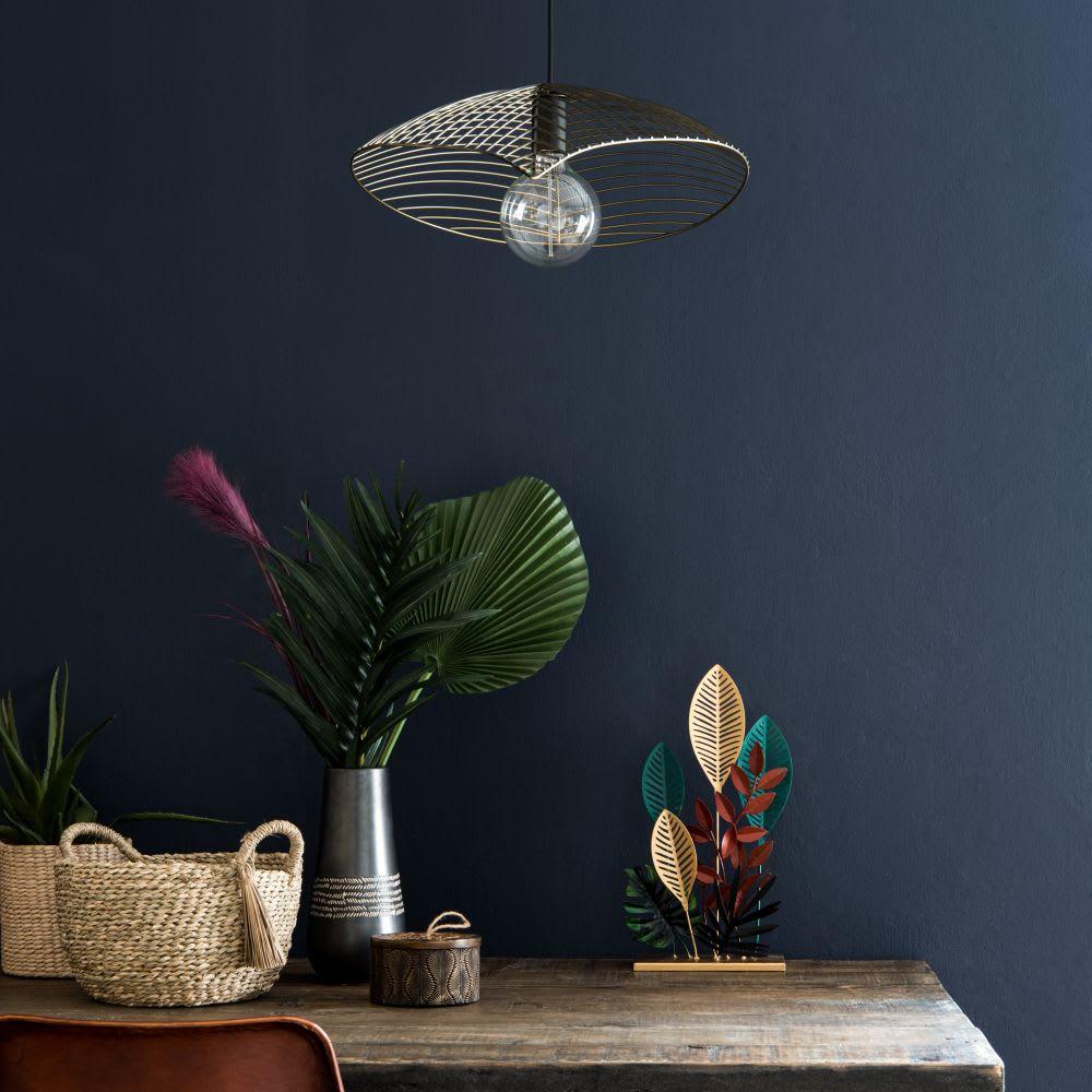 suspension filaire noire phaona maisons du monde. Black Bedroom Furniture Sets. Home Design Ideas