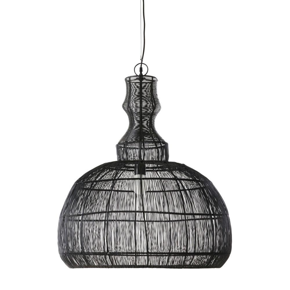suspension filaire noire batanga maisons du monde. Black Bedroom Furniture Sets. Home Design Ideas