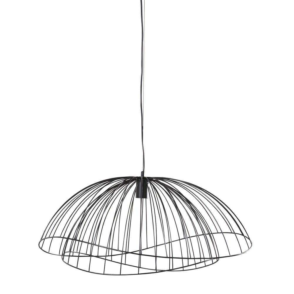 suspension filaire noire d70 cancun maisons du monde. Black Bedroom Furniture Sets. Home Design Ideas