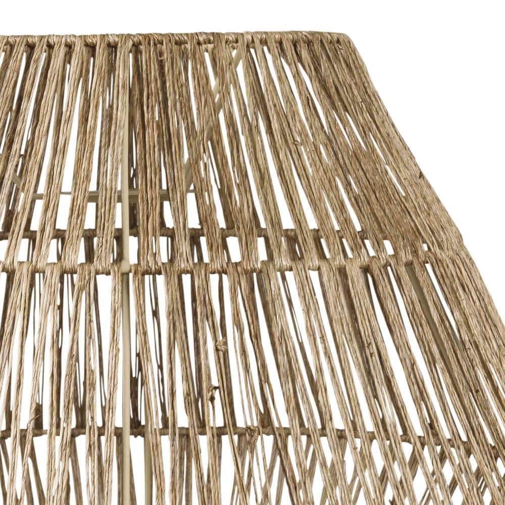 suspension non lectrifi e en fibre v g tale inirida maisons du monde. Black Bedroom Furniture Sets. Home Design Ideas