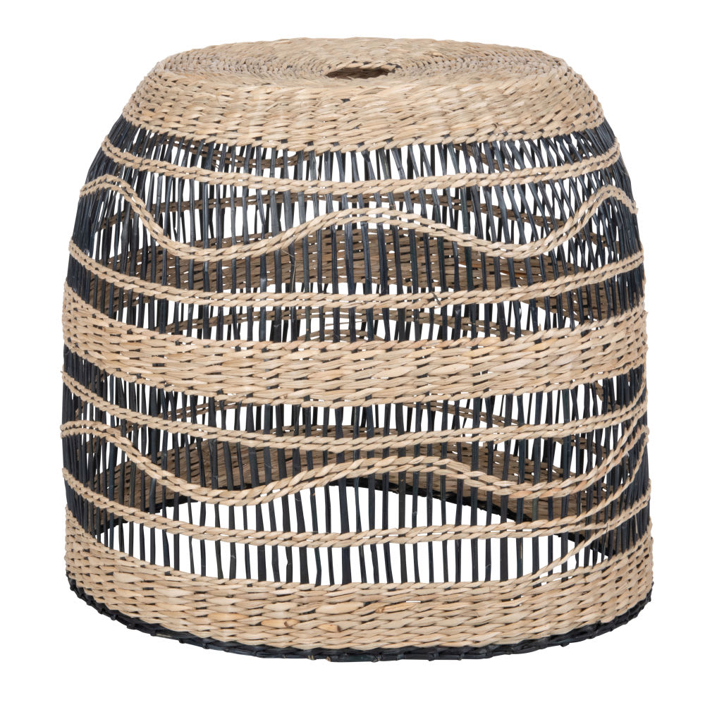 suspension non lectrifi e en fibre v g tale bicolore jala. Black Bedroom Furniture Sets. Home Design Ideas