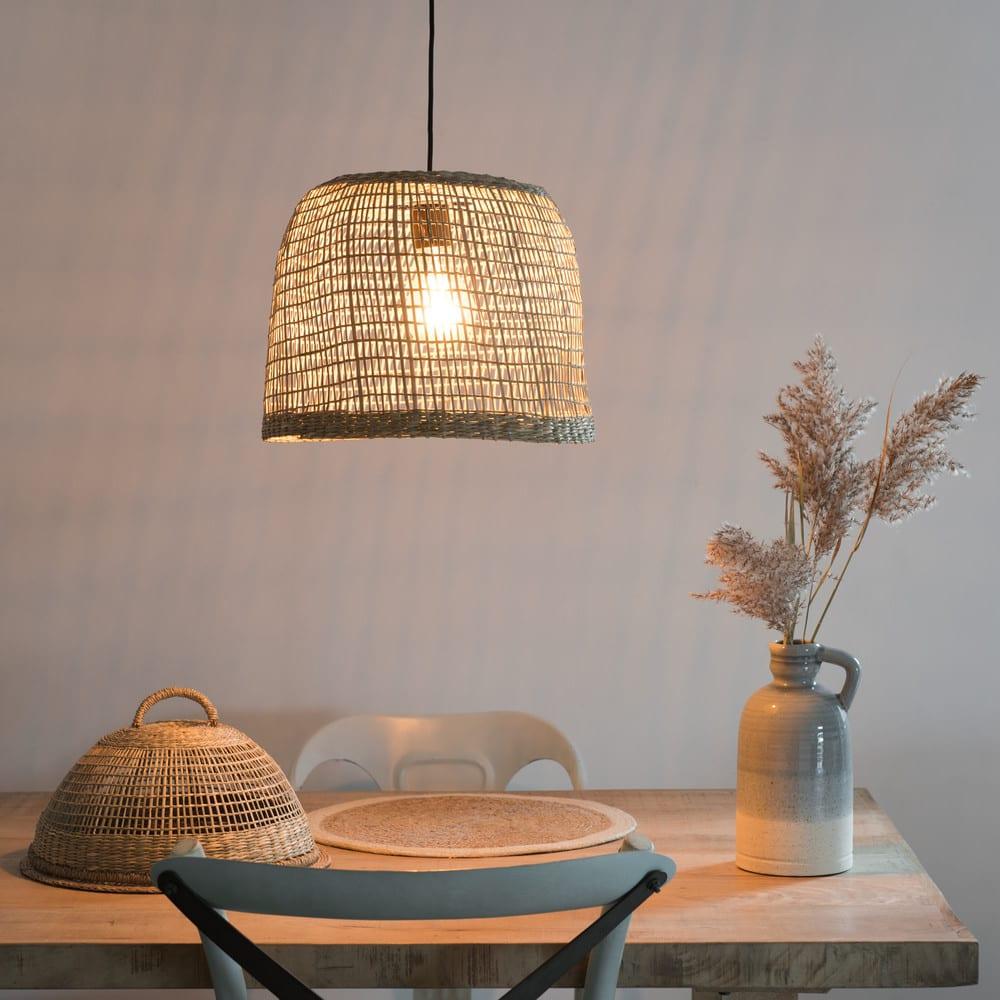 suspension non lectrifi e en fibre v g tale d32 barbade. Black Bedroom Furniture Sets. Home Design Ideas