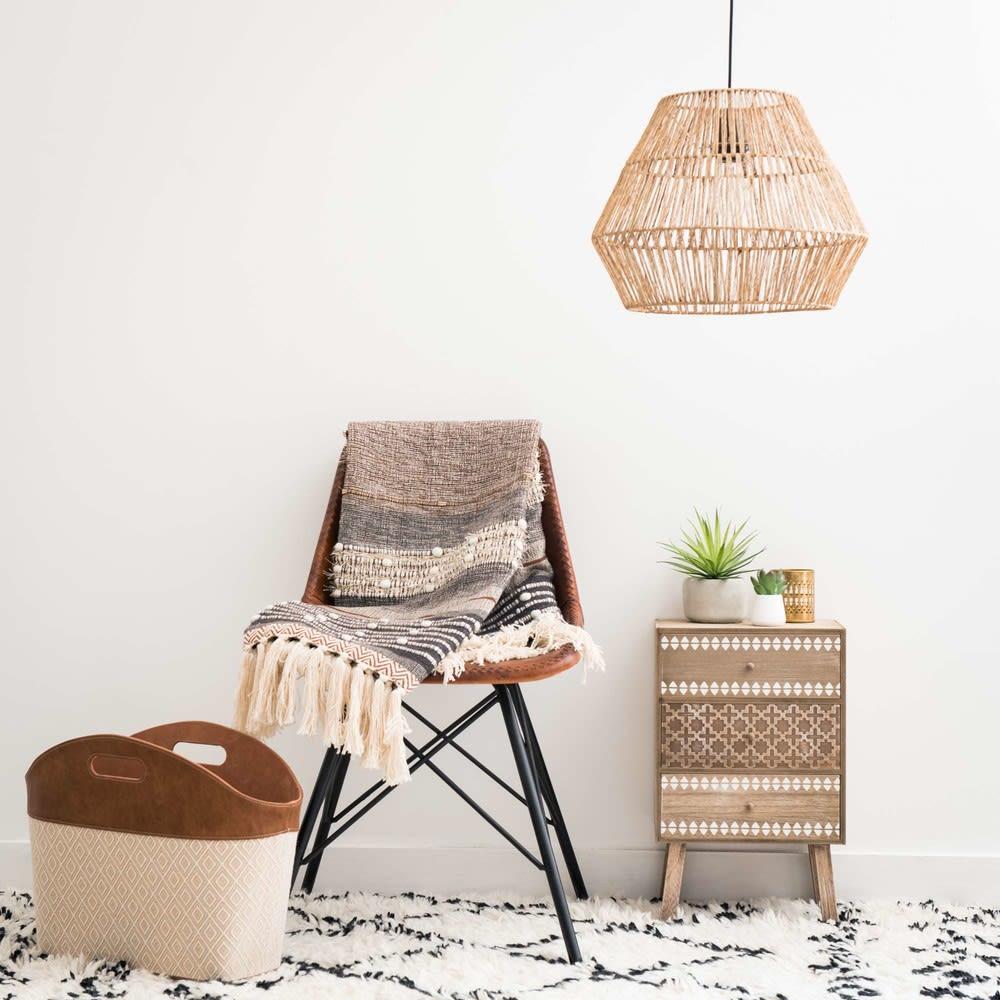 suspension non lectrifi e en fibre v g tale d40 inirida. Black Bedroom Furniture Sets. Home Design Ideas