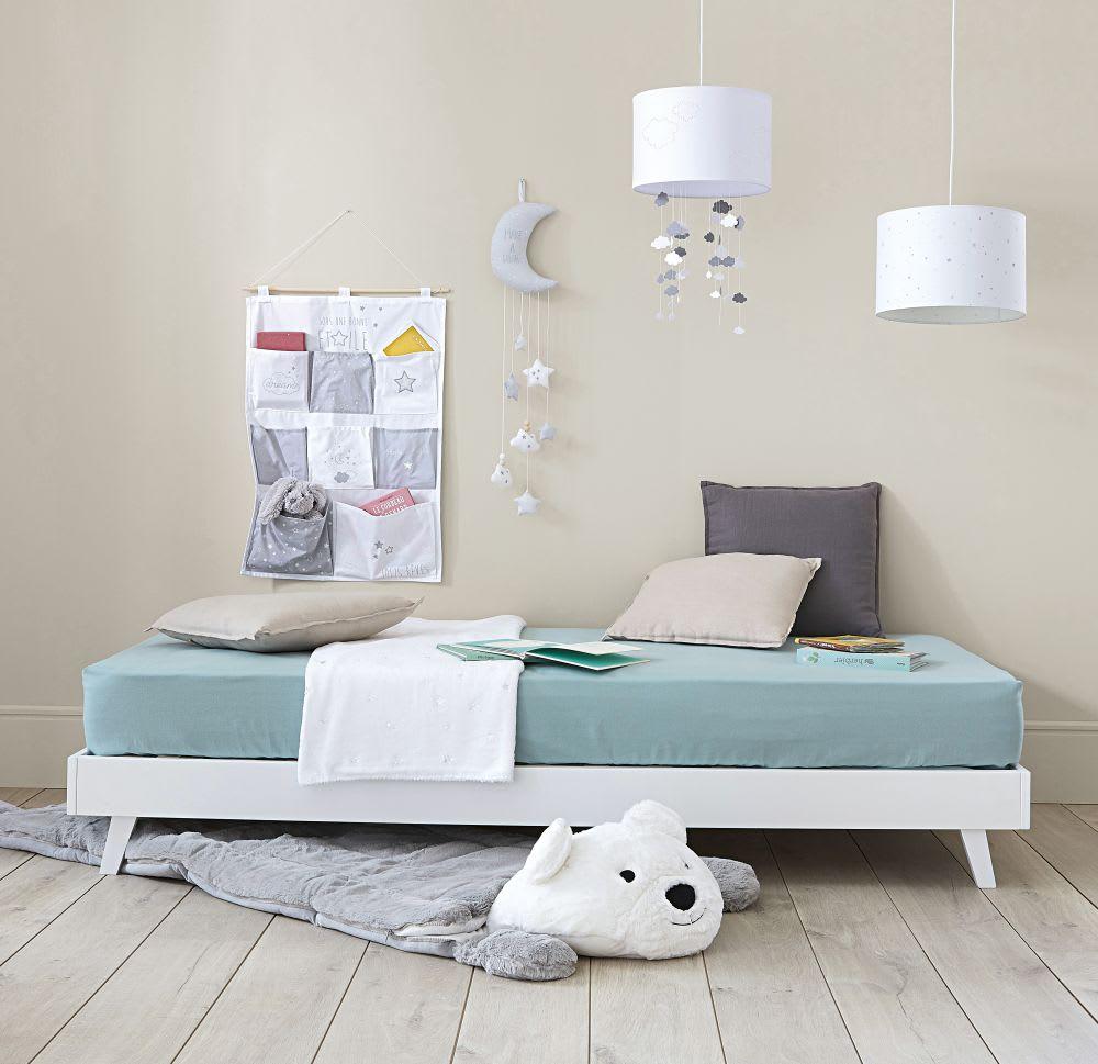 suspension non lectrifi e nuages blanche th ophile. Black Bedroom Furniture Sets. Home Design Ideas