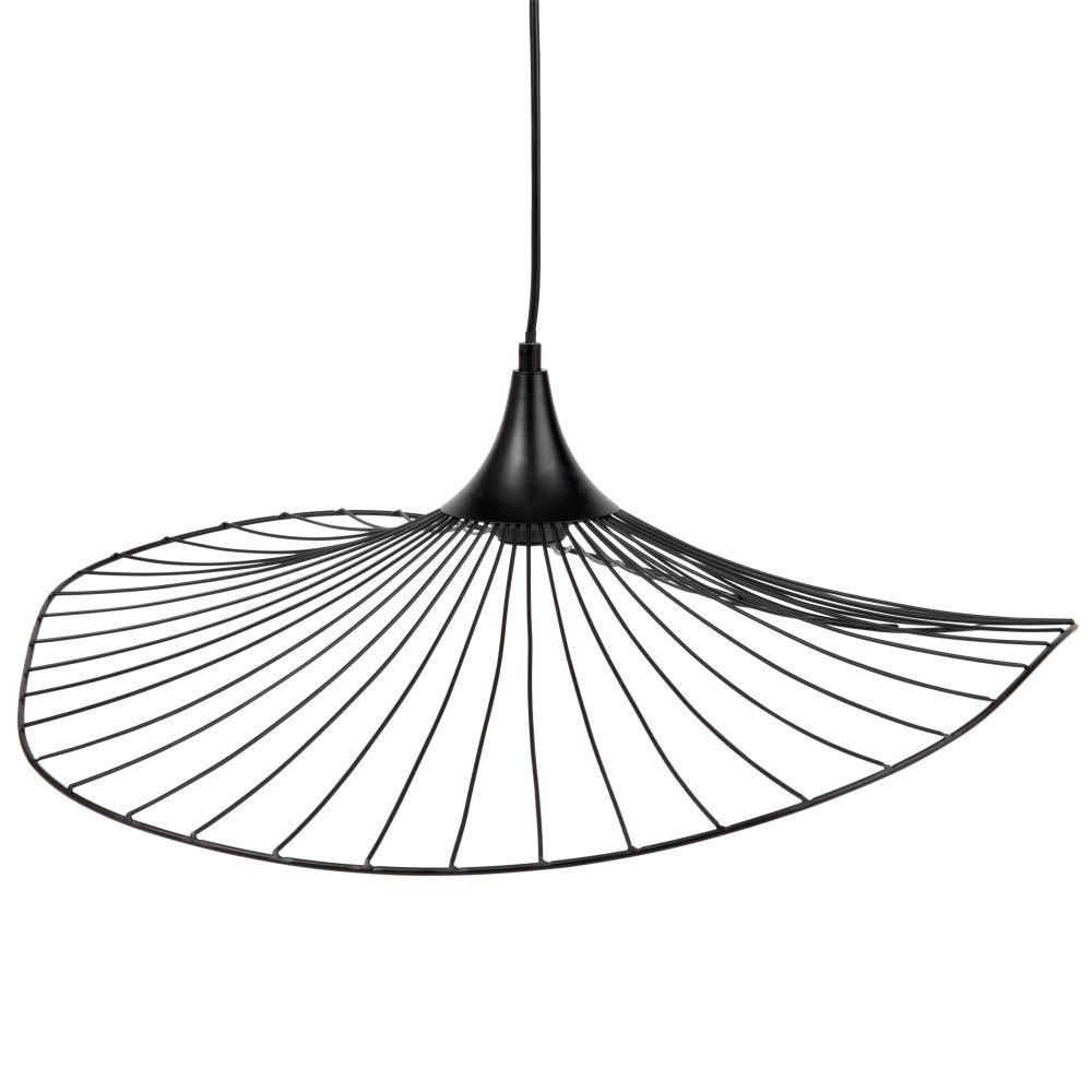 suspension ombrelle en m tal noir orla maisons du monde. Black Bedroom Furniture Sets. Home Design Ideas