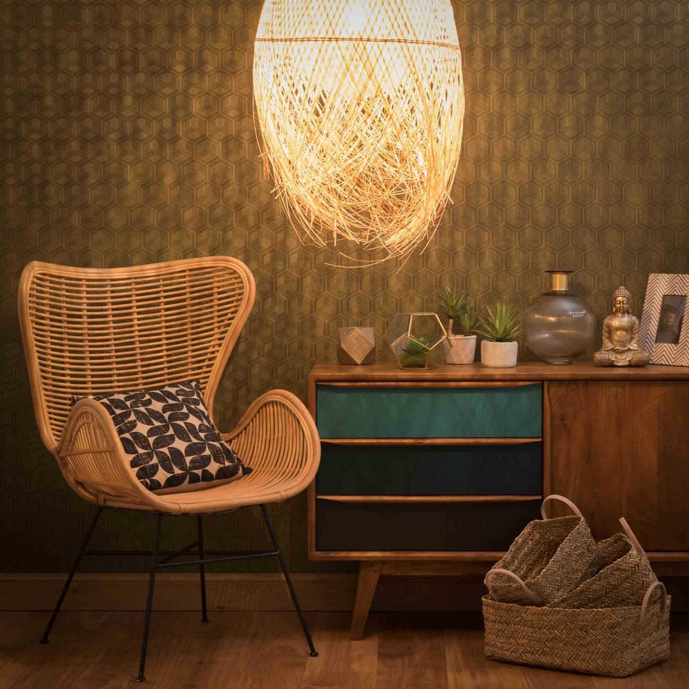 suspension tress e non lectrifi e d 42 cm panama. Black Bedroom Furniture Sets. Home Design Ideas