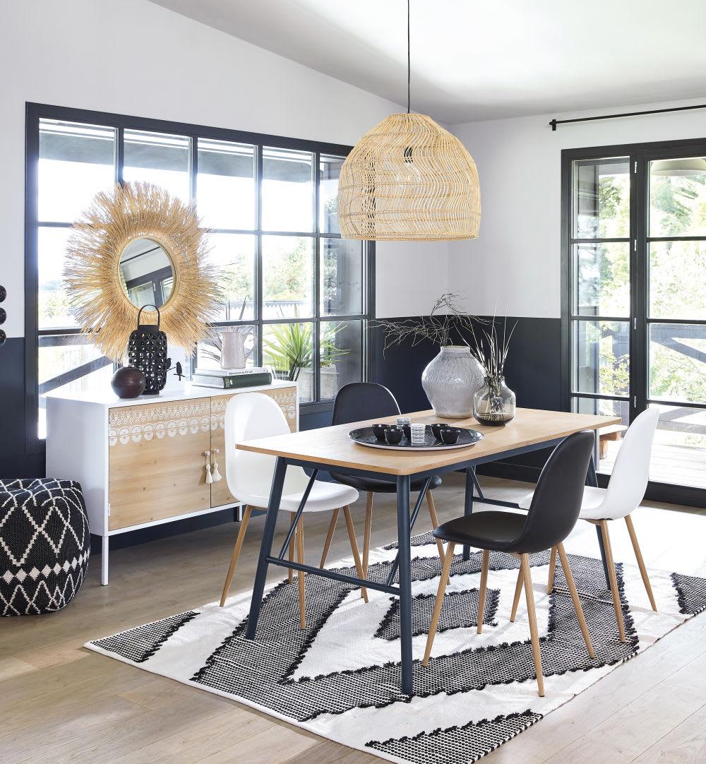 table manger 6 8 personnes l160 penelope maisons du monde. Black Bedroom Furniture Sets. Home Design Ideas