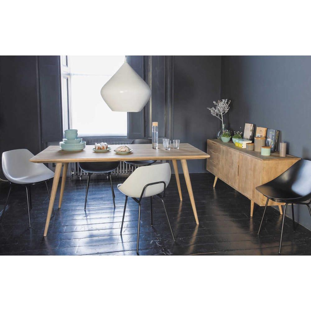 table manger en manguier massif 8 personnes l175 trocadero maisons du monde. Black Bedroom Furniture Sets. Home Design Ideas